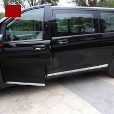 <b>lsrtw2017 stainless steel car</b> tail door trims for mercedes benz vito ...