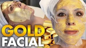 Trying the <b>24k Gold</b> Korean <b>Facial</b>?! - YouTube