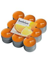 """<b>Свеча</b> ароматическая <b>чайная</b> """"апельсин"""", комплект из <b>18 шт</b> ..."""