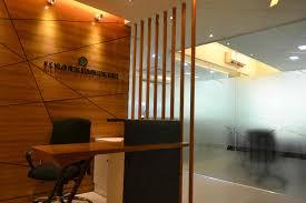 best google office office design zero inch interiors ltd a 3d image of reception desk by best office interiors