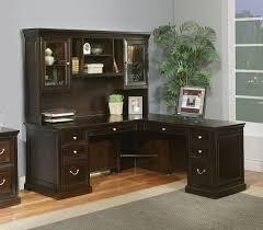 full size of desk superb corner desks with hutch solid wood construction espresso finish l amazing wood office desk corner