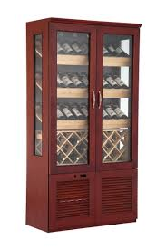 China Double Door Vertical <b>Wooden Red Wine</b> Freezer <b>Cabinet</b> ...