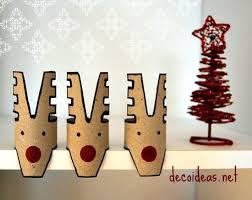 christmas decor made of paper