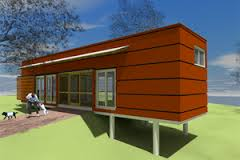 SIPs House Plans   Houseplans comSignature Modern Exterior   Other Elevation Plan       Houseplans com