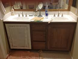 washstand bathroom pine: took to the garage found a pint of light grey blue paint left over
