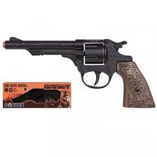 <b>Револьвер ковбоя</b> черный 22.5 см Gonher 80/6 - купить в ...