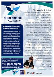 school direct secondary places shirebrook academy why teach subject flyers page 12