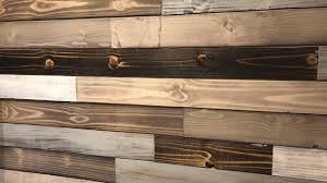 Super Easy Wood Accent Wall Idea (DYI <b>Wood Plank Wall</b>) - YouTube