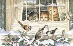 Дименшенс вышивка кошки