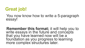 5 paragraph essay structure brought to you by powerpointpros com you now know how to write a 5 paragraph essay