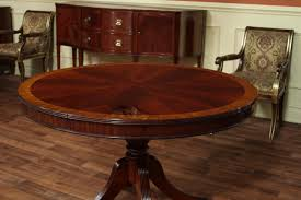 Round Dining Room Table Set With Leaf Starrkingschool - Dining room tables oval