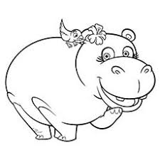 Small Picture 10 Cute Free Printable Hippo Coloring Pages For Toddlers