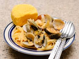 how to make a clam and linguini dinner steps pictures
