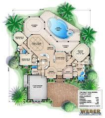 Mediterranean House Plan   Dalt Vila House Plan   Weber Design GroupDalt Vila House Plan