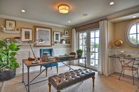 view in gallery grasscloth adds lovely texture to the beautiful beach style home office from spinnaker development beach office decor