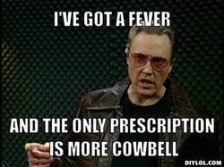 The World Needs More Cowbell - Sam's Random Thoughts via Relatably.com
