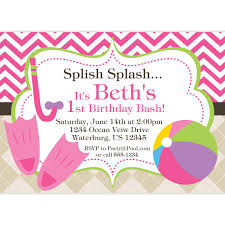 pool party invitation design birthday party invitation pool party beauteous invitation to a pool party template