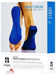 <b>Патч охлаждающий</b> для <b>ступней</b> ног Perfect Cooling Premium Foot ...