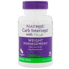 <b>Carb Intercept</b> 3 <b>Phase</b> 2 Natrol 60 кап.