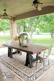 build dining room table making