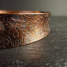 Handmade Silver <b>Copper</b> Bronze and <b>Enamel</b> by CinnamonJewellery