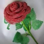 Схема цветы из бисера своими руками