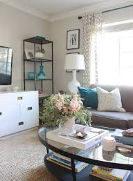 Rugs In Living Rooms Living Room Update Jute Rug Addition Addiction Chic Little House