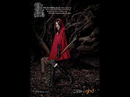 ghd little red riding hood by y r london print