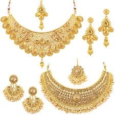 Buy Sukkhi Glamorous LCT <b>Gold</b> Plated Wedding <b>Jewellery</b> Pearl ...