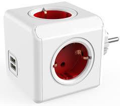 <b>Allocacoc Original USB</b>, Red сетевой <b>разветвитель</b>