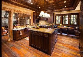 kitchen ideas log cabin
