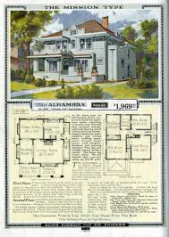 Is Your Foursquare House From a Catalog     complete advertisement page   floor plan