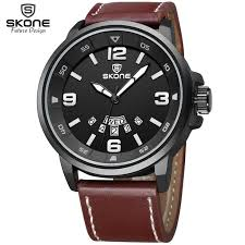 Skone New <b>Luxury Brand Men</b> Army Military Wrist Watches Mens ...