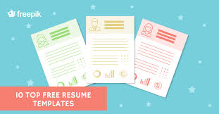 top resume templates pik blog