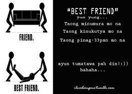 Best Friend Quotes Tagalog. QuotesGram via Relatably.com