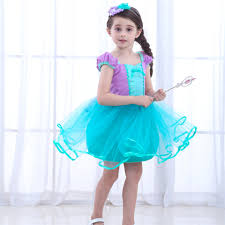 Summer <b>Baby Girl Princess Ariel</b> Dress Infant Rapunzel Purple Tutu ...