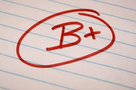 b plus school letter grade picture photograph photos b plus school letter grade