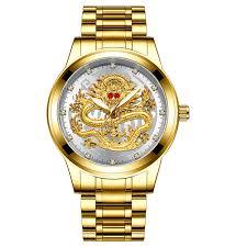 TEVISE <b>Top</b> Brand Luxury Gold Men Mechanical Watch 3D <b>CNC</b> ...
