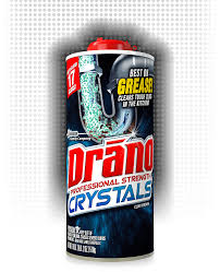 professional strength crystals clog remover drano reg sc johnson