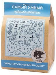 Чайный напиток Самый <b>умный</b> 100г Дары Тайги 5412845 в ...