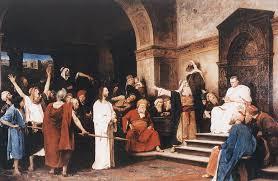 Cristo davanti Pilato - dipinto di Mihály Munkácsy