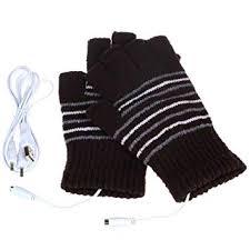 Roupas, calçados e acessórios Luvas USB <b>Electric Heated Gloves</b> ...
