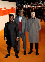 ewan mcgregor and the cast of t trainspotting had an absolute members of young fathers nearing during a universe premiere of trainspotting 2 during cineworld in edinburgh