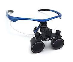 Zgood Dental Surgical <b>Medical Binocular Loupes 2.5X420mm</b> ...