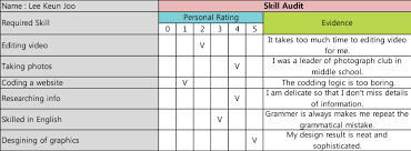 skills audit and swot mirimstudent skill audits 03 skill audits 04