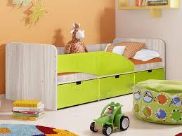<b>Кровать Левая</b> Бриз 3 (80х190) (Лайм квадрат) – купить в ...