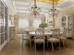 Chandelier Dining Room Marvelous Dining Rooms With Beautiful Chandelier Modern Home