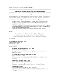 resume for substitute teacher com resume for substitute teacher is delightful ideas which can be applied into your resume 12