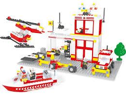 Детский <b>конструктор Ausini</b> серии <b>Пожарные</b>, <b>433</b> деталей 69768