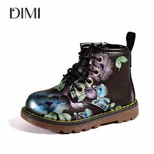 DIMI <b>2019 New</b> Kids Girls <b>Boots</b> Leather Princess <b>Martin Boots</b> ...